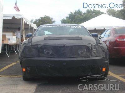 Шпионские фотографии Ford Mustang 2010 года