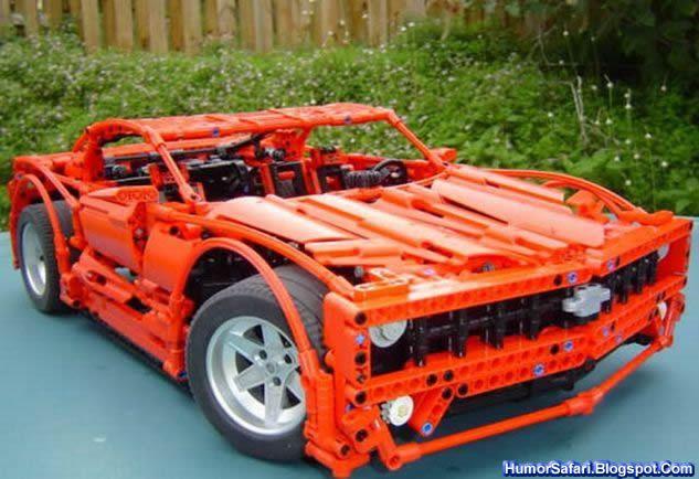 Лего своими руками машины