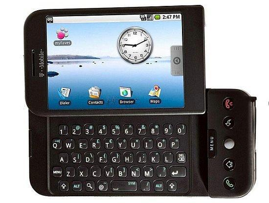 G1 - первый смартфон на Android объявлен официально