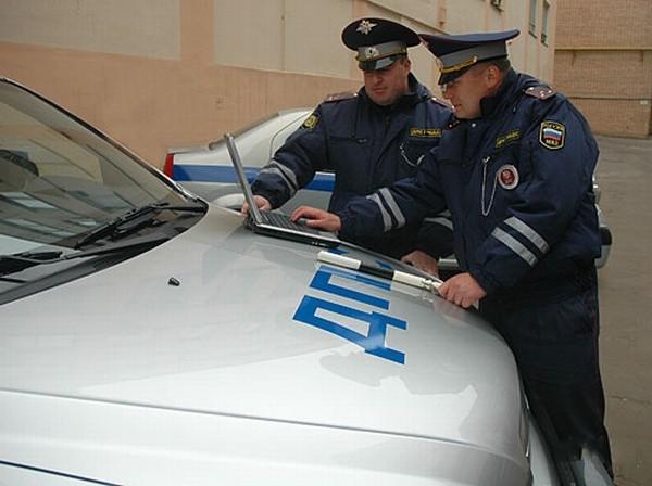 Новые патрульные машины МВД России