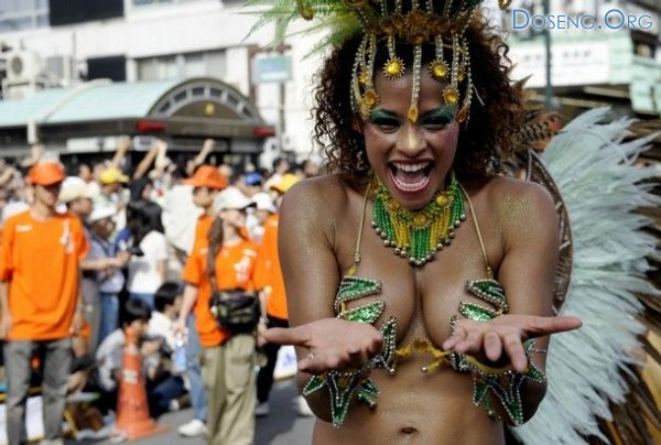 Бразильский карнавал в Японии