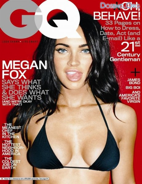 ���������� ����� ���� (Megan Fox) � ������ ��� GQ