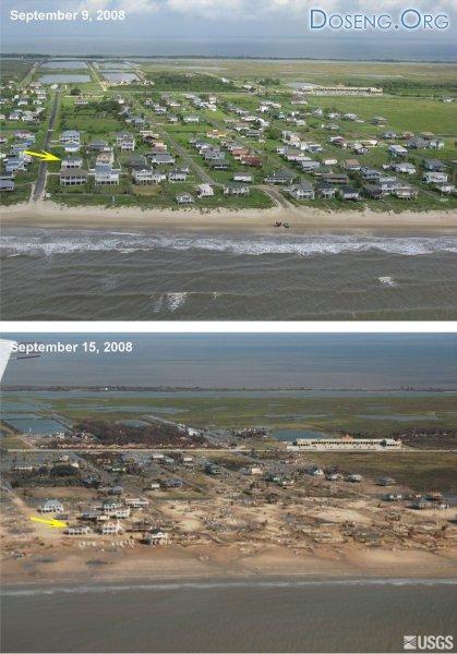 Ураган Айк (4 фото)