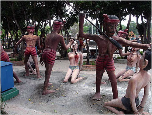 Адский парк развлечений в Таиланде