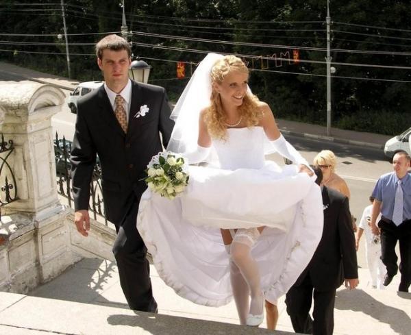 Невесты в нижнем белье