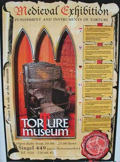Музей пыток в Амстердаме (49 фото)