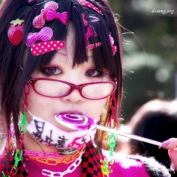 Японские девочки-хараюку