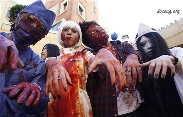 Хеллоуин шагает по планете (36 фото)