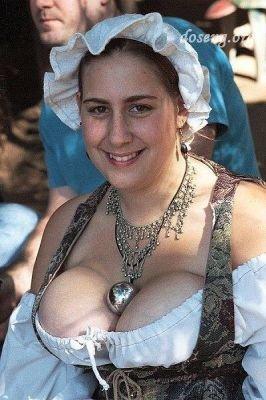 Самые пышногрудые женщины Европы живут в деревне Велп