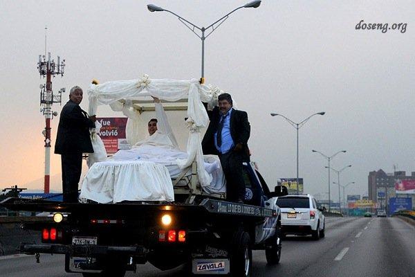 Свадьба Меме, самого тяжелого человека в мире