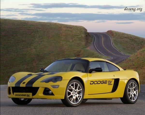Новый спортивный автомобиль Dodge EV