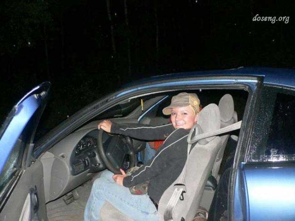 Не стоит фотографировать свое авто (2 фото)