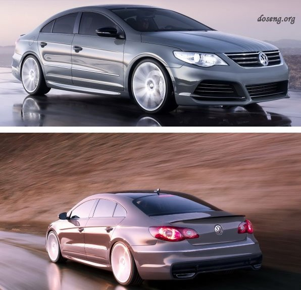 VW Passat CC Super Performance Concept мощностью 311 л.с.
