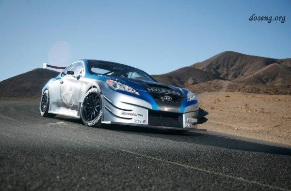 Новый автомобиль купе Hyundai Genesis Coupe