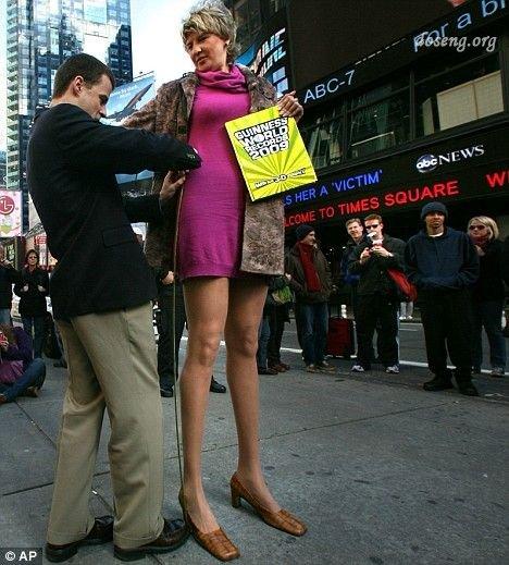 Светлана Панкратова - самые длинные ноги (4 фото)