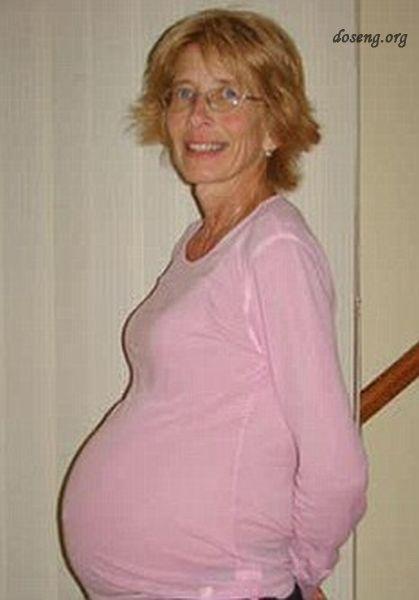 Фото беременной женщины в возрасте