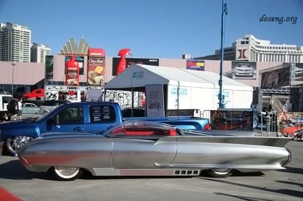 Фантастический автомобиль из 50-х (11 фото)