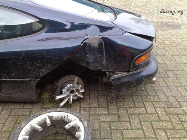 Случай с Aston Martin DB7 (5 фото)