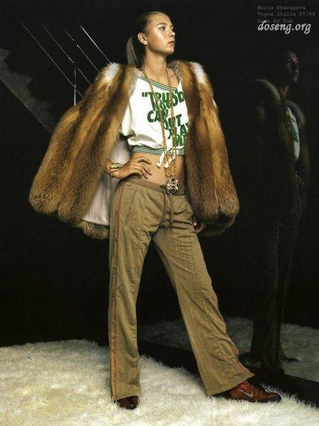 Мария Шарапова в Vogue (7 Фото)