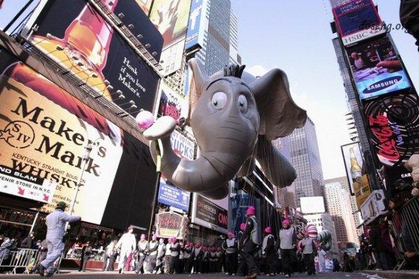 День благодарения в Нью-Йорке (10 фото)