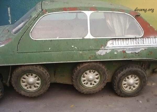 Городской танк (5 фото)