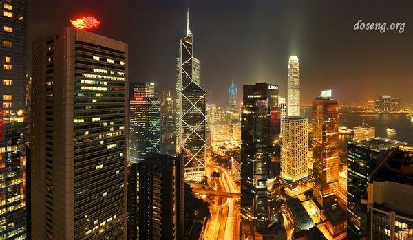 Ночные мегаполисы