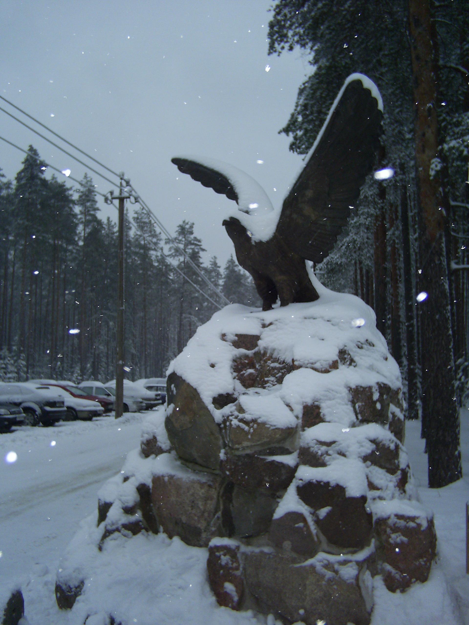 Наконец-то снежная зима!