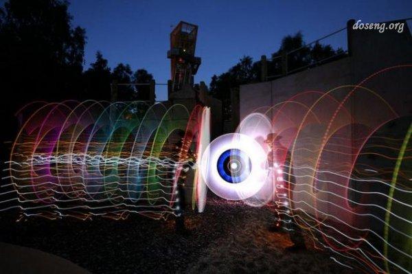 Световые скульптуры
