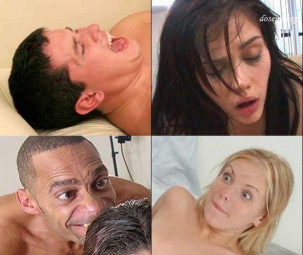 Лица во время секса (46 фото)