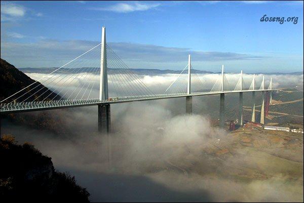 Самый высокий мост мира Виадук Мийо