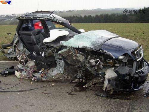 Бритни Спирс попала в ужасную аварию (4 фото)