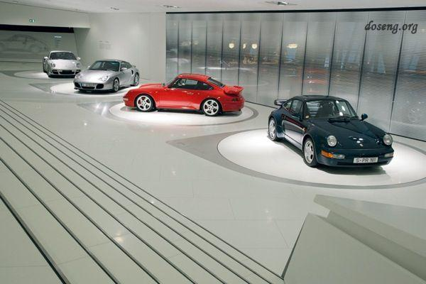 Музей автоконцерна Porsche в Штутгарте (13 фотографий)