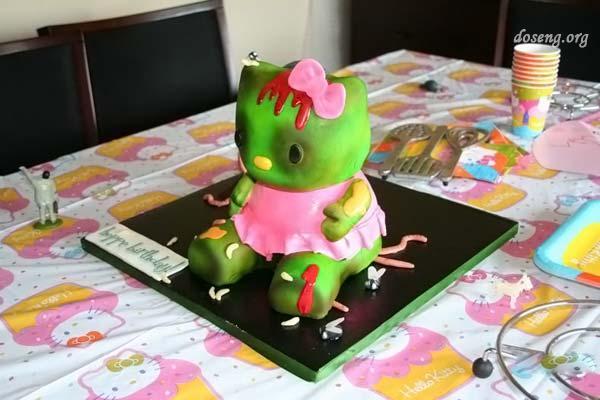Вот это тортик на день рождение,жесть!