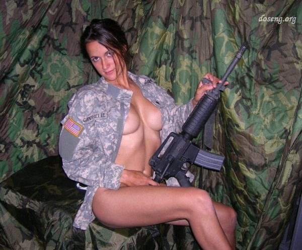 частные фото военных женщин голых