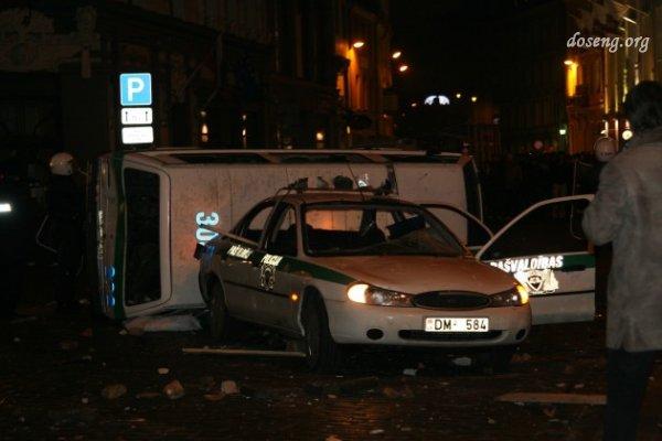 Беспорядки в Старой Риге 13 января
