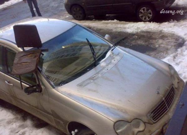 Страшная автомобильная месть (55 фото)