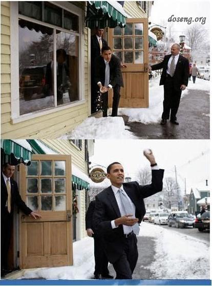 Фотожаба на Обаму (16 фотожаб)