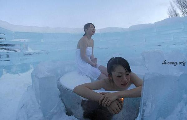 Ледяной отель в Хоккайдо