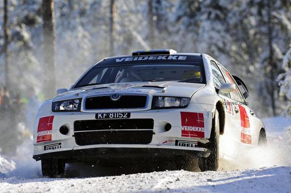 Автогонки WRC, Норвегия (8 фото)