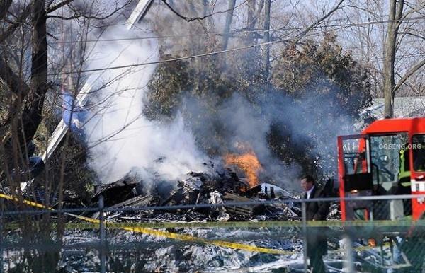Крушение пассажирского самолета (12 фото)