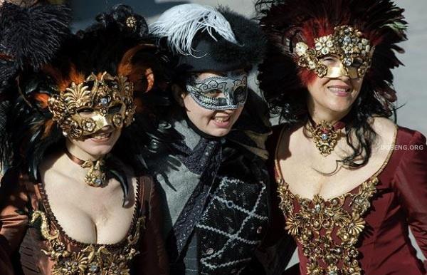 Венецианский Карнавал (15 фото)