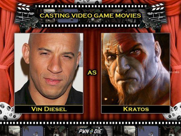Голливудские актеры и герои компьютерных игр (30 картинок)