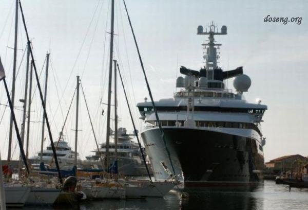 Самая дорогая яхта в мире - Octopus (48 фото)