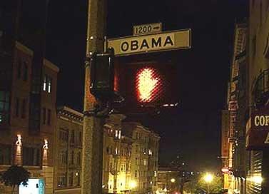 В Америке уже переименовывают улицы в честь президента Обамы