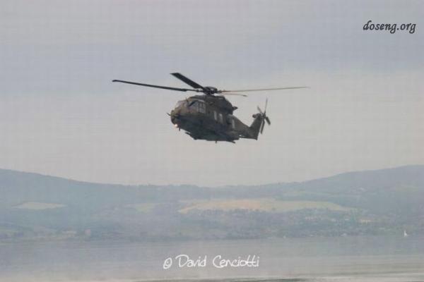 Падение вертолета в Италии (7 фото)