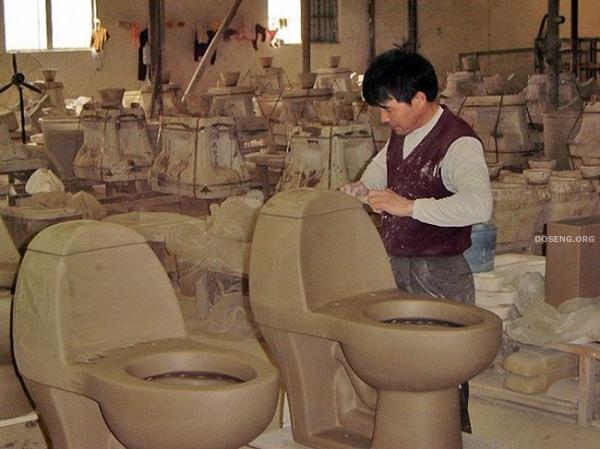 Туалеты из Китая (48 фото)