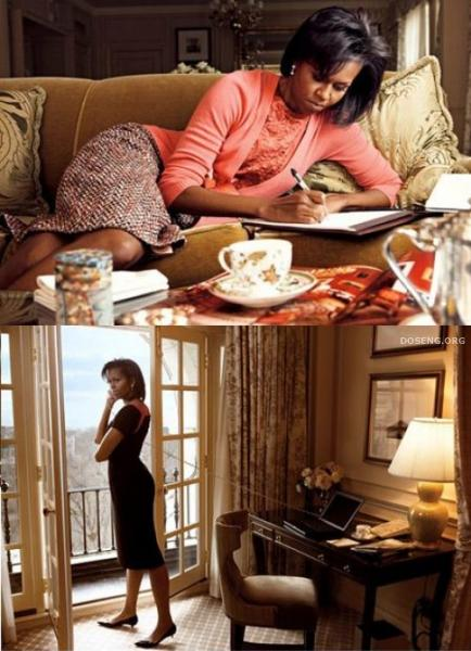 Мишель Обама в журнале Vogue. Март 2009