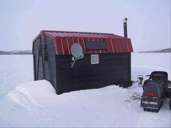 рыболовный домик фото