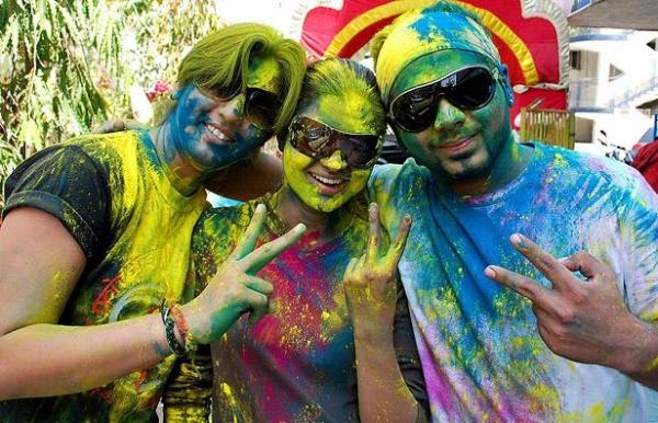 Фестиваль красок - праздник Холи (20 фото)