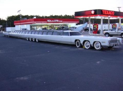 Длиннотелые авто - лимузины (25 фото)